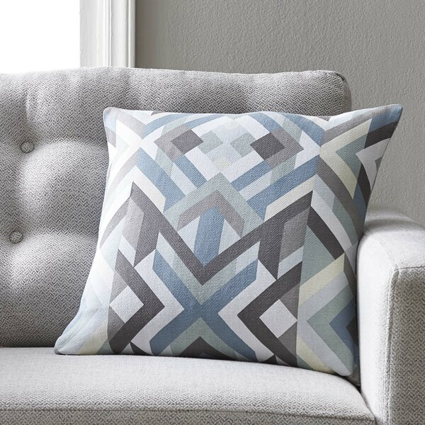 Justus 100% Cotton Pillow Cover by Langley Street| @ $33.00